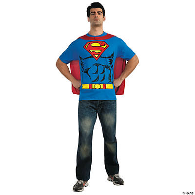 Superman T-Shirt Adult Men's Costume