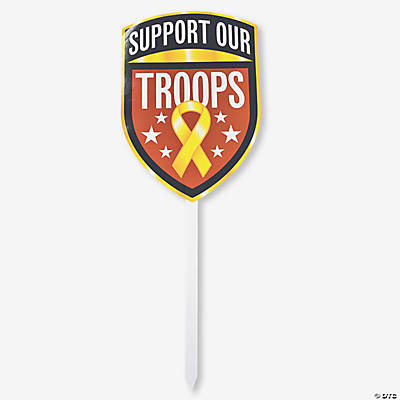 """Support Our Troops"" Yard Sign"