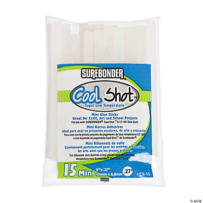 Surebonder® Cool Shot™ Low Temperature Mini Glue Sticks