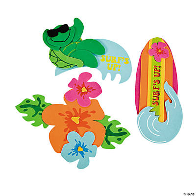 """Surf's Up!"" Magnet Craft Kit"
