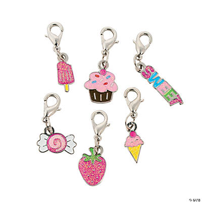 Sweet Treats Enamel Charms