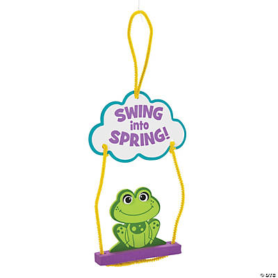 Swing into Spring Frog Sign Craft Kit