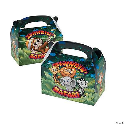 Swingin Safari Treat Boxes