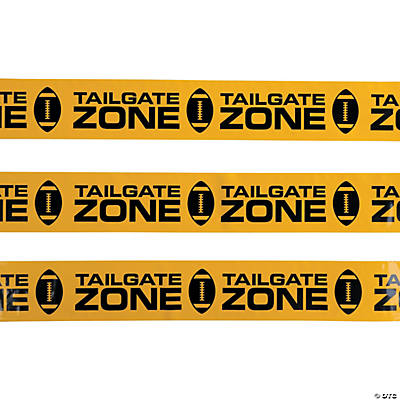 Tailgate Zone Caution Tape