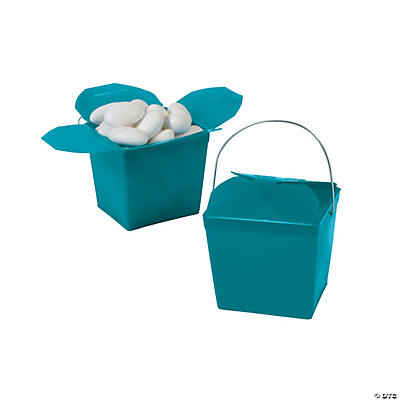 Take Out Boxes - Turquoise