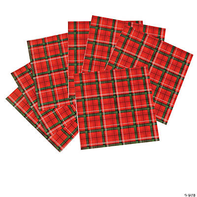 Tartan Plaid Luncheon Napkins
