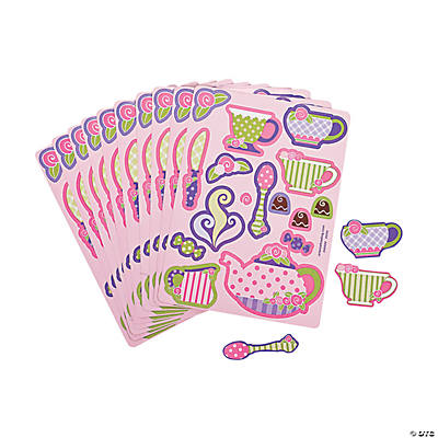 Tea Party Sticker Sheets