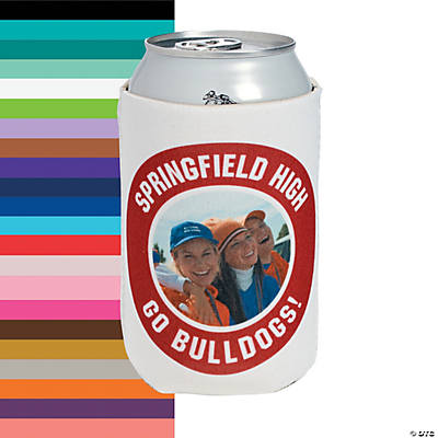 Team Spirit Custom Photo Can Coolers