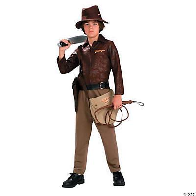Teen Boyu0027s Deluxe Indiana Jones Costume  sc 1 st  Oriental Trading & Halloween Costumes for Teenage Boys | Oriental Trading Company
