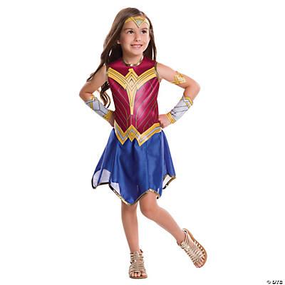 Teen Girlu0027s Batman V. Superman Dawn of Justice Wonder Woman Costume  sc 1 st  Oriental Trading & Teen Girl Halloween Costumes   Oriental Trading Company