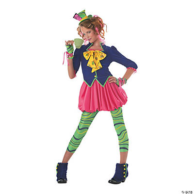 Teen Girl's Mad Hatter Costume