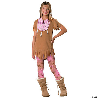 Teen Girl's Native American Costume