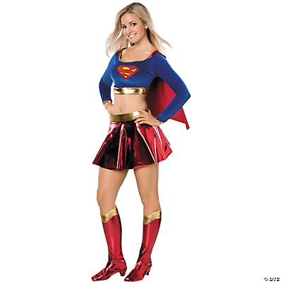 Teen Girl's Standard Supergirl Costume