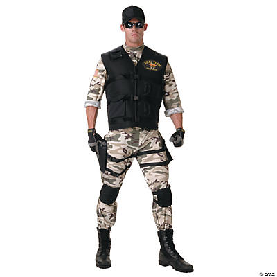 Teen's Seal Team Costume