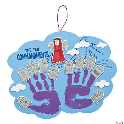 Arts And Crafts For Ten Commandments