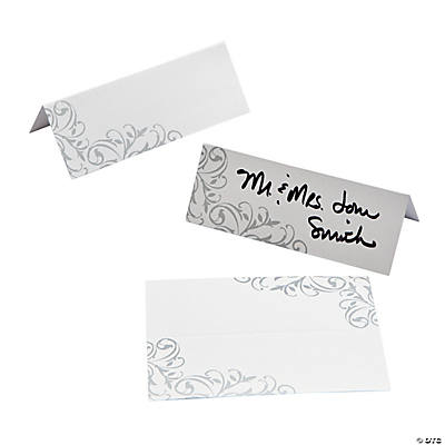25th Anniversary Place Cards