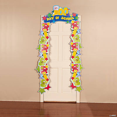 100th Day of School Door Border