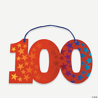 100th Day of School Magic Color Scratch Ornaments