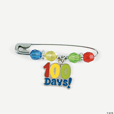 100th Day of School Pin Craft Kit