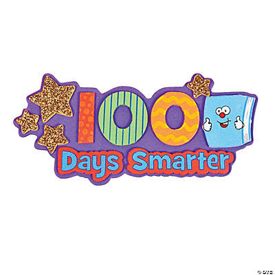 100th Day of School Smarter Magnet Craft Kit