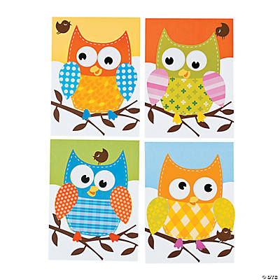 100th Day of School Smarter Owl Sticker Scenes