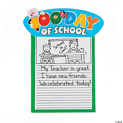 24 100th Day of School Stories Craft Kit