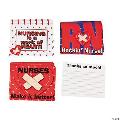 "Thank You ""Nurses"" Cards"