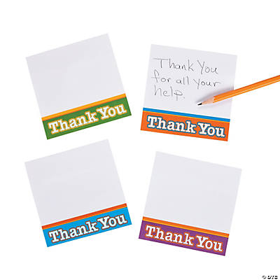 """Thank You"" Sticky Notes"