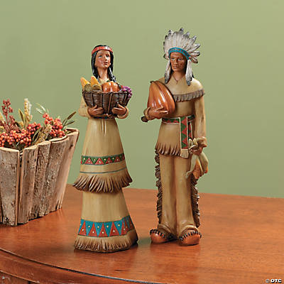 Thanksgiving Native American Couple