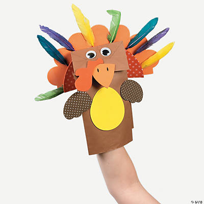 Thanksgiving Turkey Puppet Craft Kit