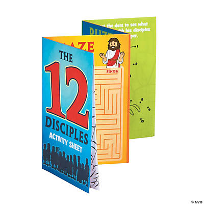 The 12 Disciples Fold-Up Activity Sheets