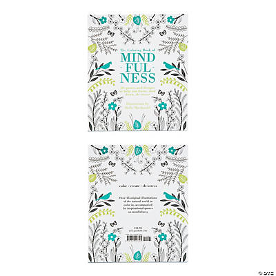 The Coloring Book of Mindfulness Adult Coloring Book