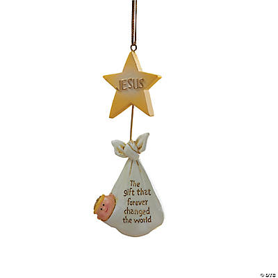 """The Gift That Changed the World"" Christmas Ornaments"