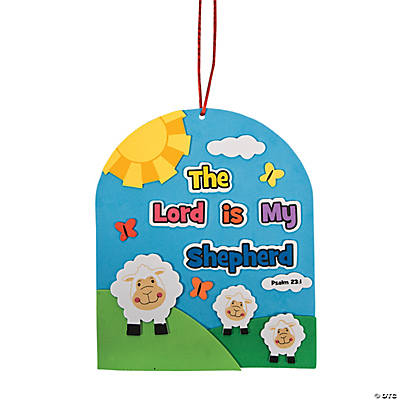 """The Lord Is My Shepherd"" Sign Craft Kit"