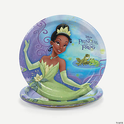 The Princess & the Frog Dinner Plates
