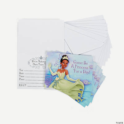 The Princess & the Frog Invitations