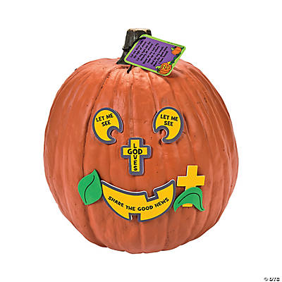The Pumpkin Prayer Pumpkin Decorating Craft Kit