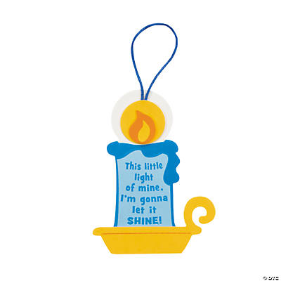 """This Little Light of Mine"" Ornament Craft Kit"