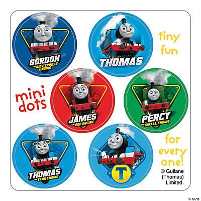 Thomas the Train Mini Dots Stickers Oriental Trading