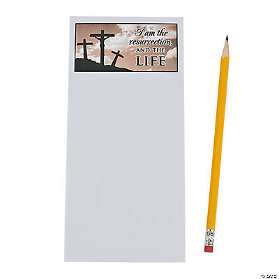 Three Crosses on the Hill Magnetic Notepads