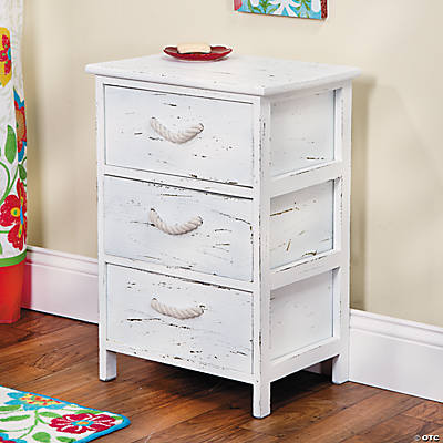 Three-Drawer Chest with Rope Handles