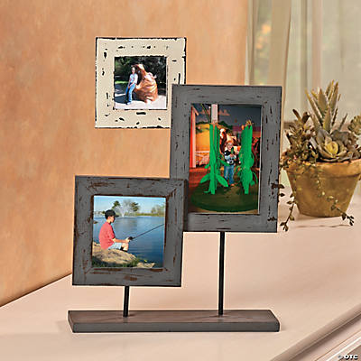 Three-Picture Frame Stand