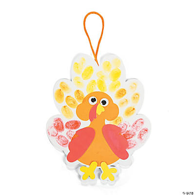 Thumbprint Turkey Craft Kit