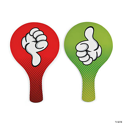 Thumbs Up/Thumbs Down Classroom Paddles