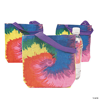 Tie-Dyed Tote Bags
