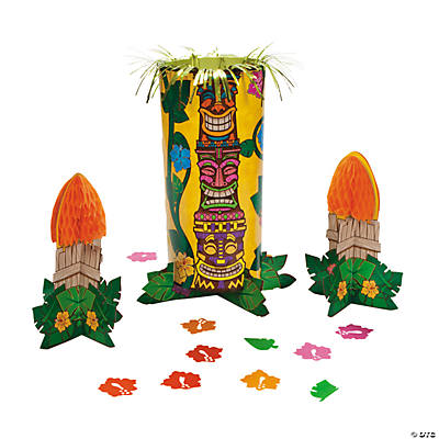 Tiki Tabletop Décor Kit