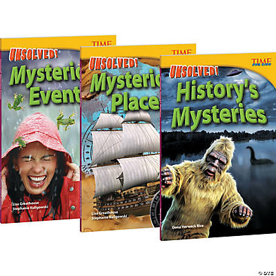 Time For Kids Unsolved! Mysteries Set of 3