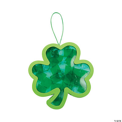 Tissue Paper Shamrock Craft Kit