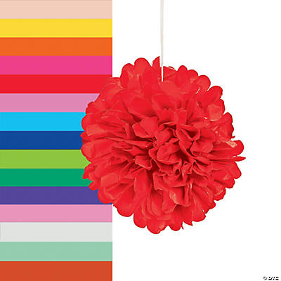 tissue pom pom decorations - Pom Pom Decorations