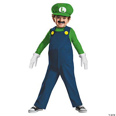 Toddler Boy's Super Mario Bros.™ Luigi Costume - 3T-4T